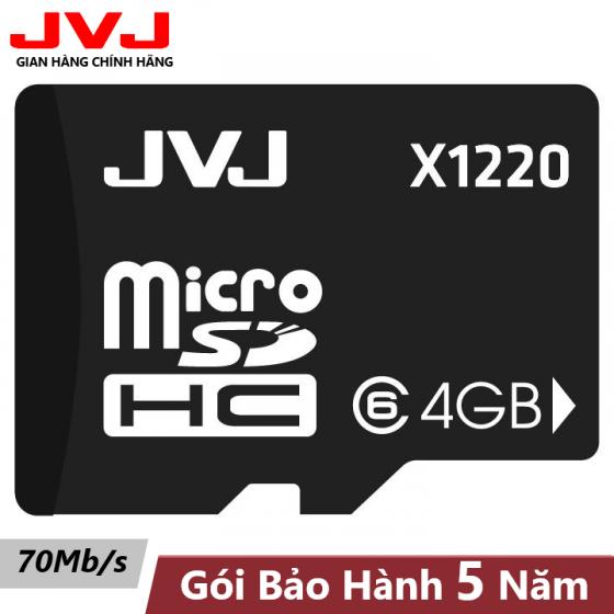 Thẻ nhớ 4G Class 6 JVJ SDHC Tốc độ cao chuyên dụng cho điện thoại