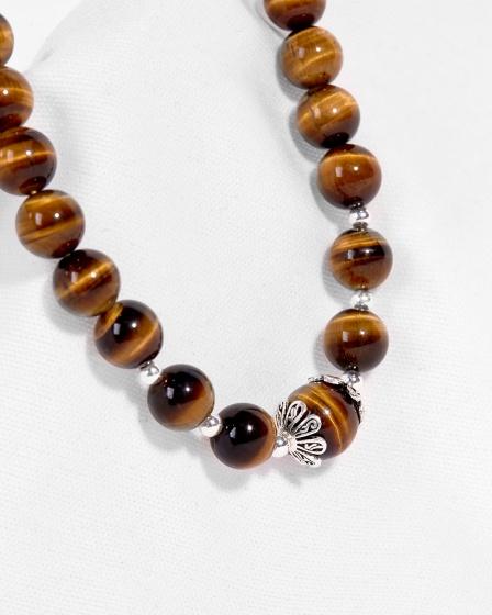 Vòng cổ đá thiên nhiên hạt 8mm - Ngọc Quý Gemstones