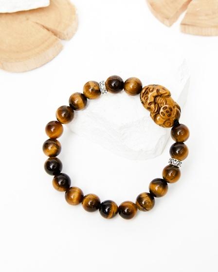 Vòng tay đá thiên nhiên phối tỳ hưu đá - Ngọc Quý Gemstones