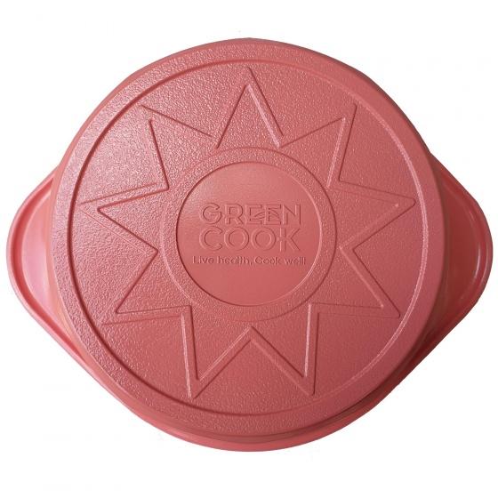 Nồi đúc ceramic vân đá 16 cm Green Cook GCS02-16