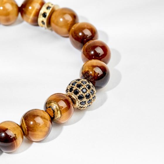 Vòng Tay đá thiên nhiên phối charm đính đá - Ngọc Quý Gemstones