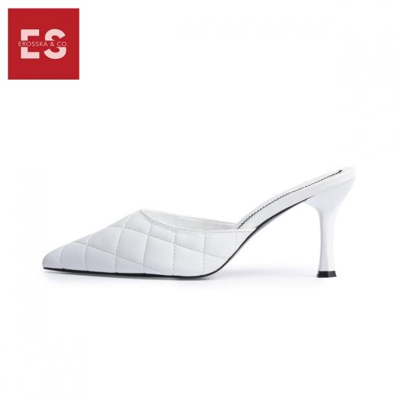 Dép cao gót Erosska thời trang mũi nhọn kiểu dáng thanh lịch cao 7cm EM047