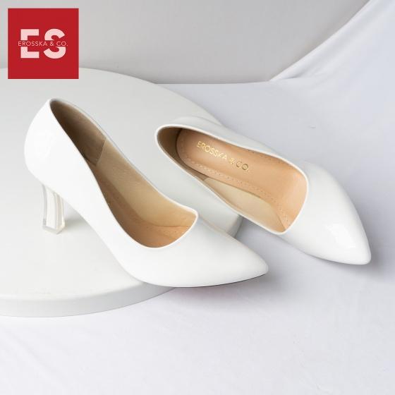 Giày cao gót Erosska thời trang mũi nhọn kiểu dáng cơ bản cao 5cm EP006