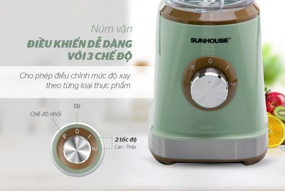 Máy xay sinh tố đa năng Sunhouse SHD5315G màu xanh