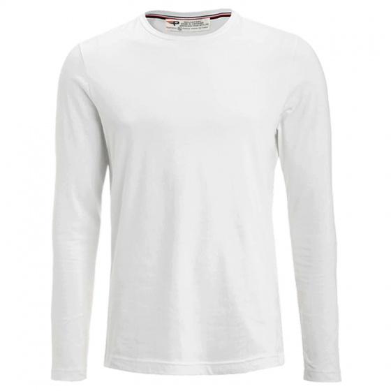 Áo thun nam dài tay cổ tròn pigofashion cotton thoáng mát (chọn màu)