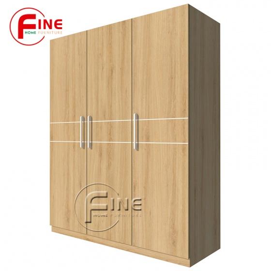 Tủ Quần Áo FINE FT017 Kích thước 1m6, Thiết kế hiện đại sang trọng
