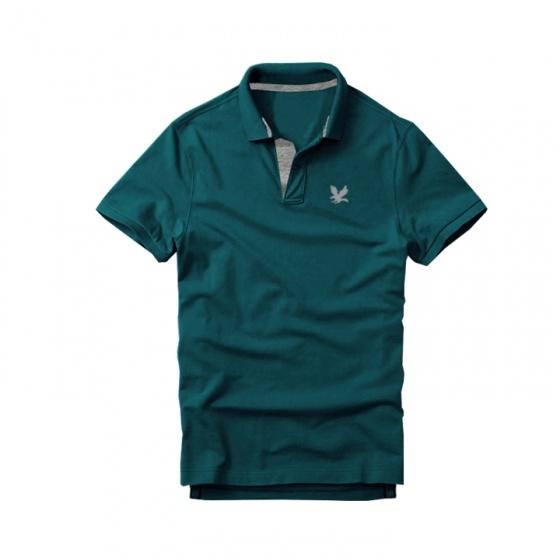 Bộ 4 áo thun nam cổ bẻ cao cấp doka, chất liệu thun cá sấu 4 chiều ngoại nhập (Đỏ, Dương, Đen, Vịt)