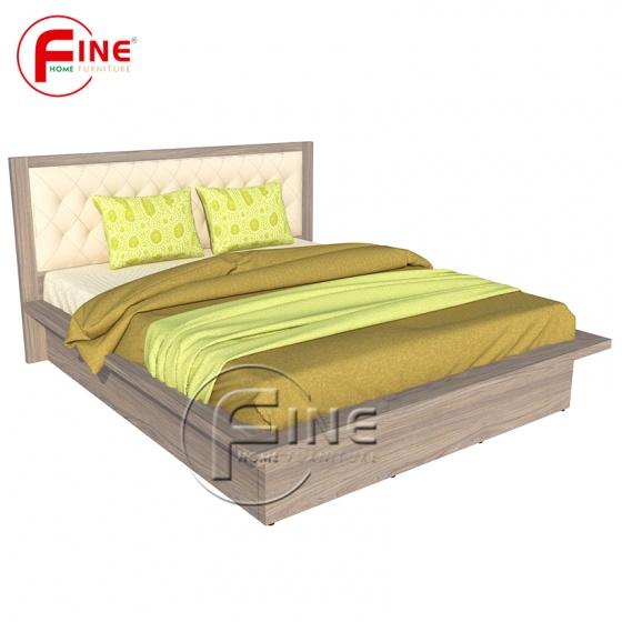 Giường Nhật 2 hộc kéo Fine FG122 Kích thước 1m6 Hiện đại sang trong