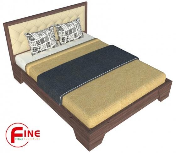 Giường Chân Xéo Fine FG075 Kích thước 1m8 Thiết kế hiện đại