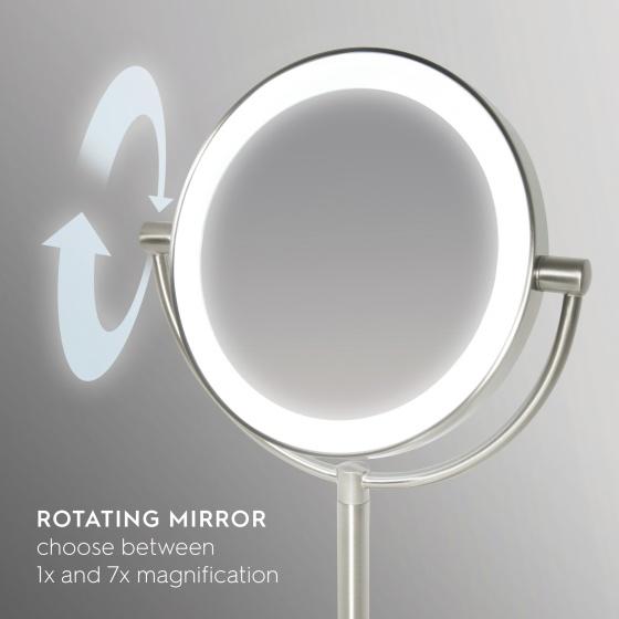 Gương trang điểm 2 mặt kèm đèn led HOMEDICS MIR-8150-EU