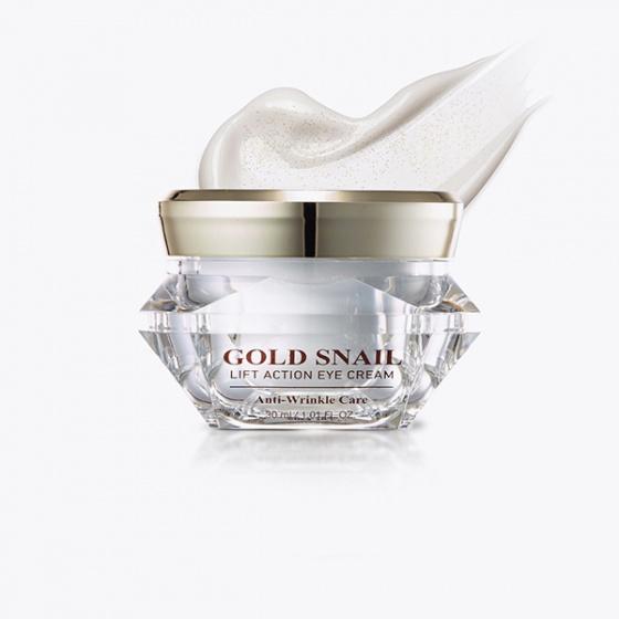 Kem mắt ngăn ngừa lão hóa tinh chất vàng và ốc sên GOLD SNAIL Lift Action Eye Cream 30ml