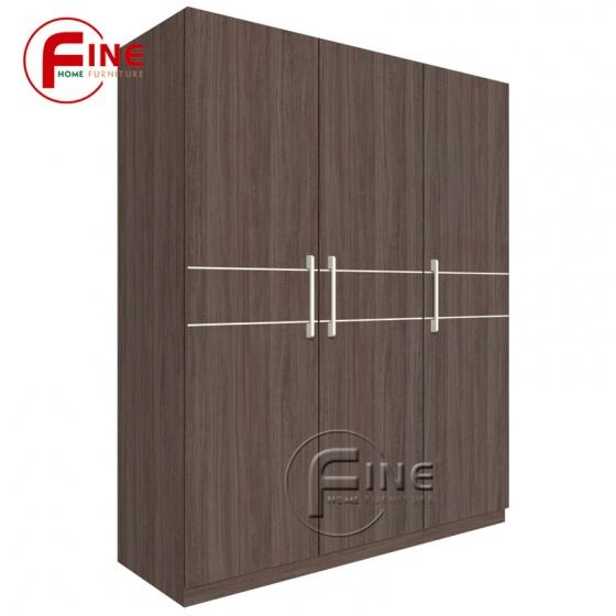 Tủ Quần Áo FINE FT001 Kích thước 1m4, Gỗ MFC ngoại nhập, thiết kế hiện đại
