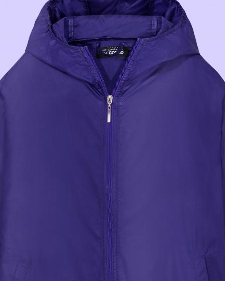 Áo khoác nữ The Cosmo NICOLE POCKETABLE JACKET màu tím TC2004038VI