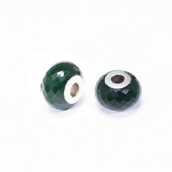 Charm pan ngọc bích - Ngọc Quý Gemstones
