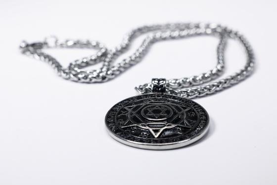 Mặt dây chuyền 12 cung hoàng đạo thép titan - Ngọc Quý Gemstones