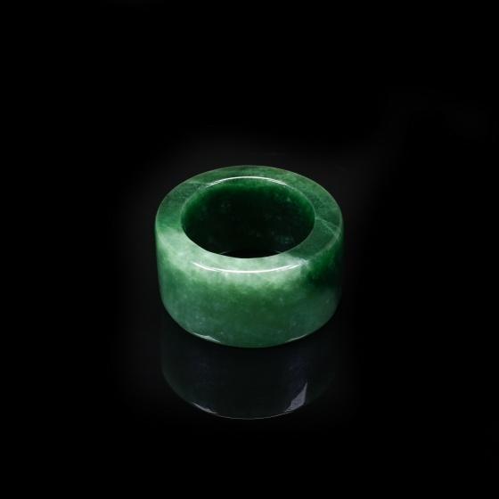 Nhẫn càn long đá cẩm thạch sơn thủy - Ngọc Quý Gemstones
