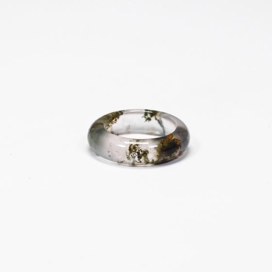 Nhẫn nữ đá băng ngọc thủy tảo - Ngọc Quý Gemstones