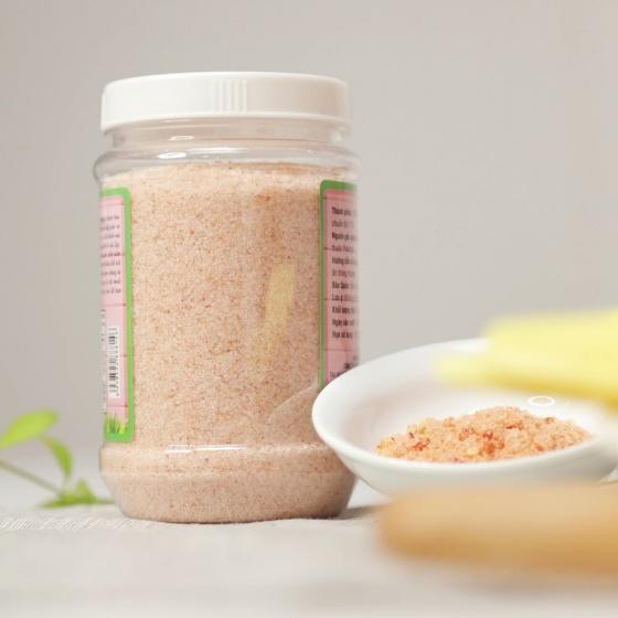 Muối hồng himalaya dạng nhuyễn (1kg)