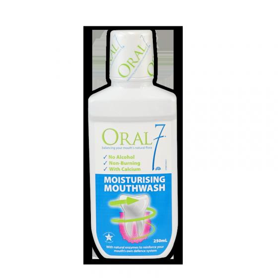 Dung dịch nha khoa giữ ẩm Oral7 Moisturising Mouthwash 250ml - Dành cho bệnh nhân hôi miệng do khô miệng