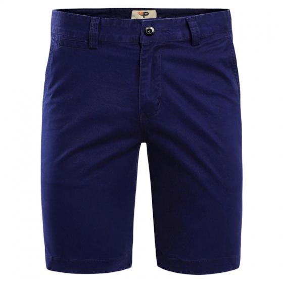 Combo 2 quần short nam kaki co giãn tốt cao cấp pigofashion xanh biển, xanh công