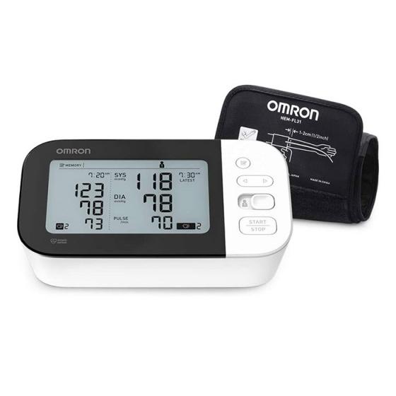 (Model 2020) Máy đo huyết áp bắp tay Omron HEM 7361T - Thiết bị kiểm tra rung tâm nhĩ (afib) và cảnh báo đột