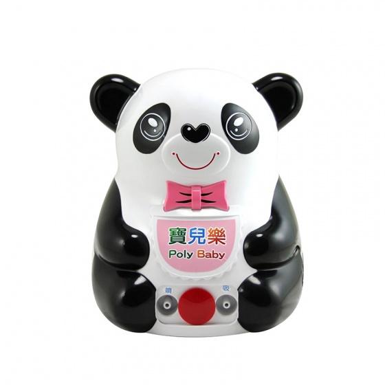 Máy xông khí dung Poly Baby SJ-001 hình gấu Panda đa chức năng có nhạc - Bảo hành 2 năm