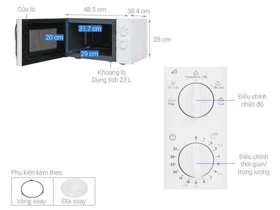 Lò vi sóng Electrolux EMM23K18GW