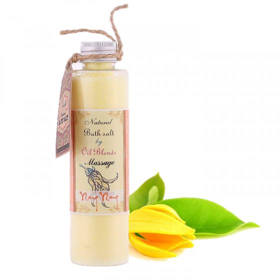 Muối trị mụn lưng ECOLIFE - Massage Salt -Ylang