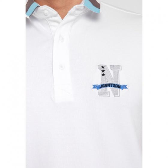 Áo thun nam Polo thêu logo N JONNY SON CS02
