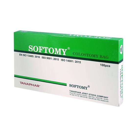 Set 20 cái túi hậu môn nhân tạo Softomy (size 45, 60) - Hàng Việt Nam chất lượng cao