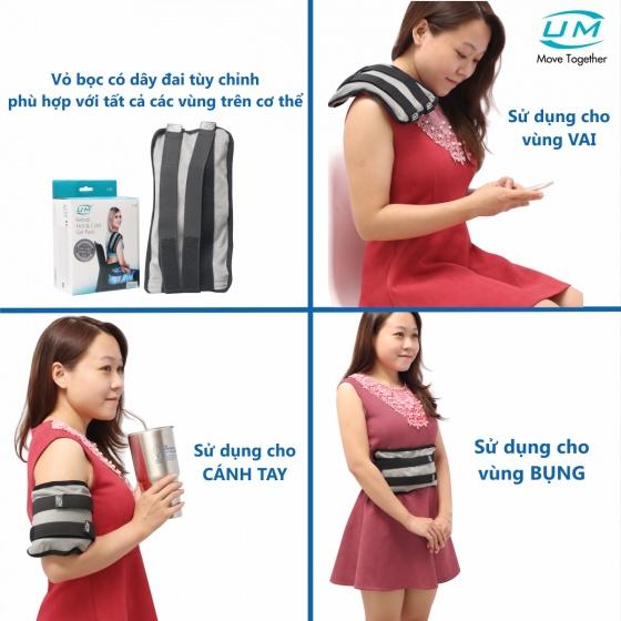 Túi chườm đai đeo nóng, lạnh United Medicare (I04)