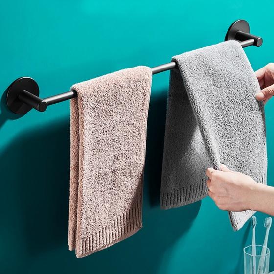 Giá treo khăn dán tường hiện đại inox 304 chống gỉ hàng cao cấp