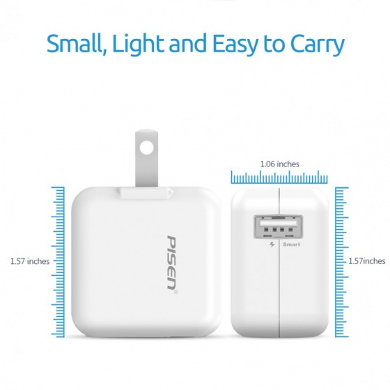 Sạc Pisen USB Charger 2A - All in One
