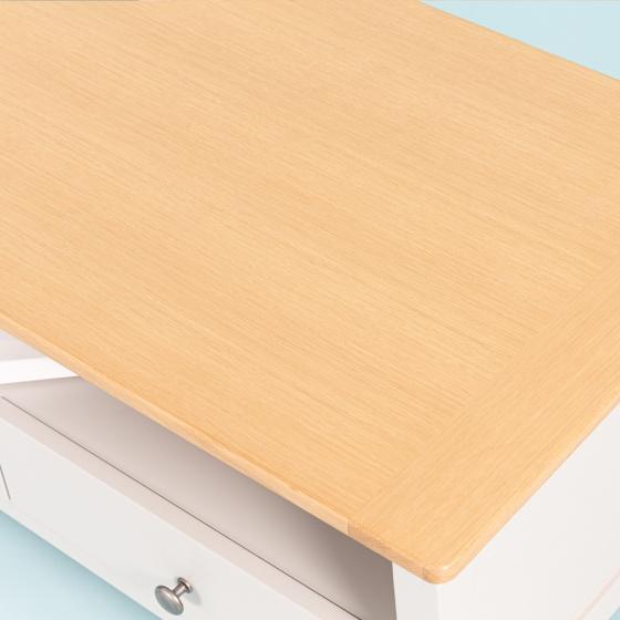 Bàn sofa gỗ sồi MOHO BOSTON 901 màu gỗ tự nhiên có ngăn kéo