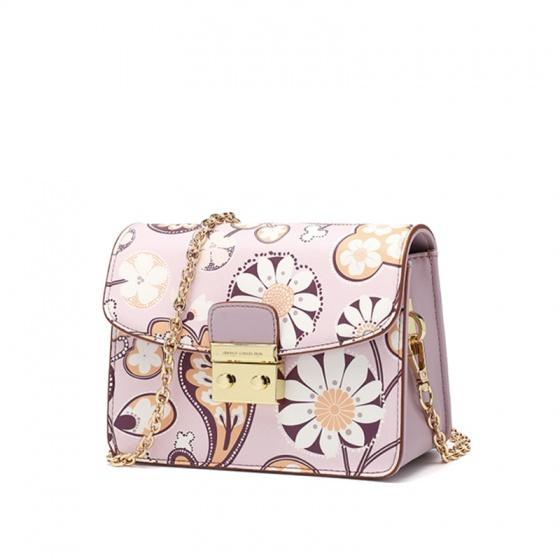 Túi hộp mini - Tím Camila - P23B155