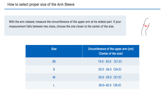 Băng nén hỗ trợ khuỷu tay Arm Sleeve