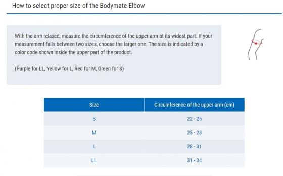 Đai hỗ trợ khuỷu tay Bodymate Elbow