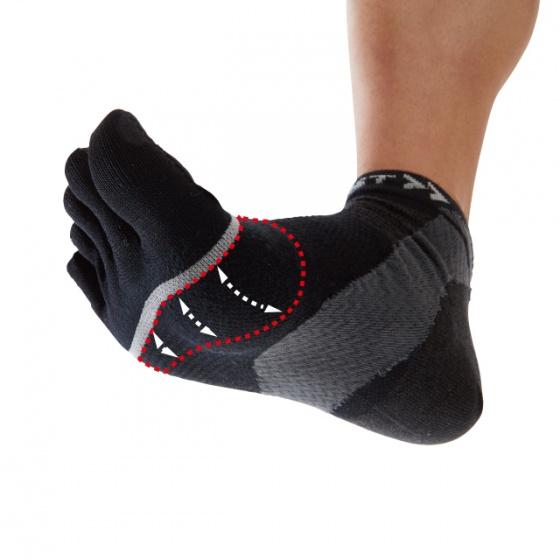 Vớ đa năng hỗ trợ bàn chân HA-1 mesh 5-finger