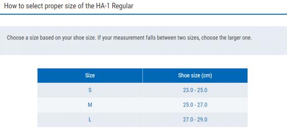 Vớ đa năng hỗ trợ bàn chân Zamst HA-1 Regular