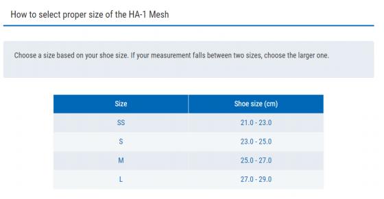 Vớ đa năng hỗ trợ bàn chân Zamst HA-1 Mesh