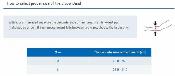 Đai hỗ trợ khuỷu tay New Elbow Band