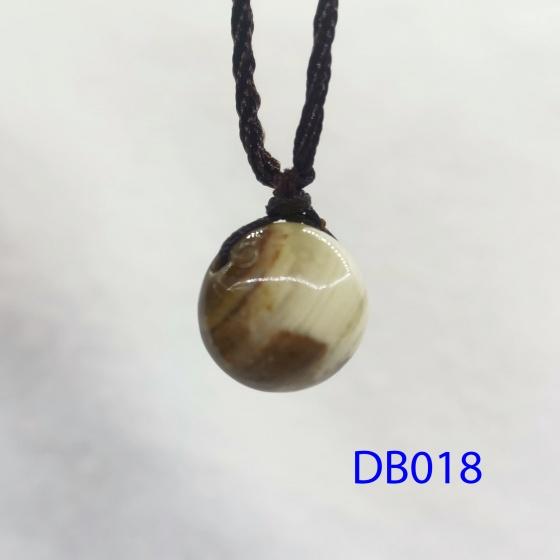 Dây chuyền hạt trắng vàng 14li