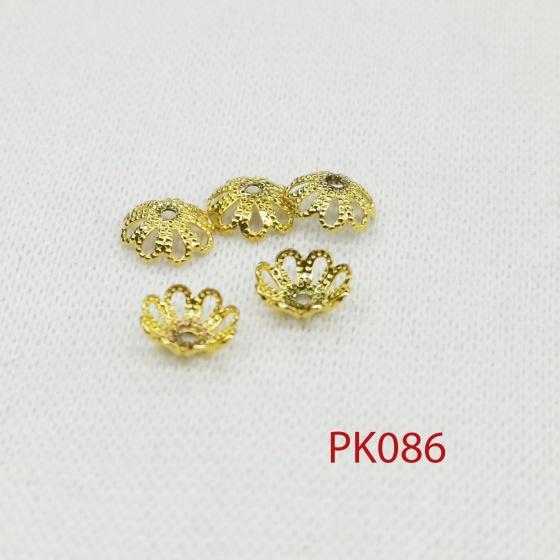 Combo 5 chamr chụp chuỗi hoa đăng size nhỏ phối trang sức phụ kiện nam nữ sang trọng