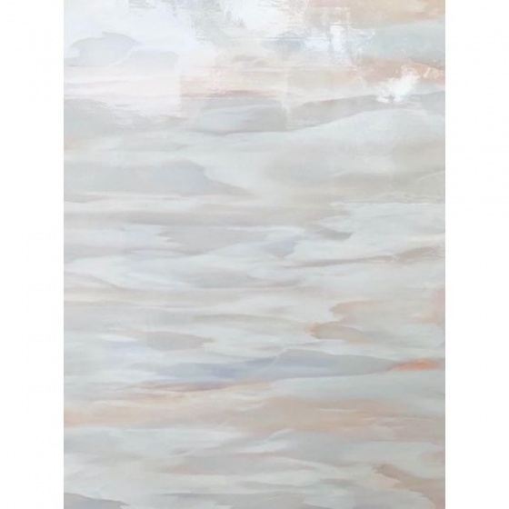 Combo 5m Giấy decal cuộn đá hoa cương vân trắng hồng DTL143