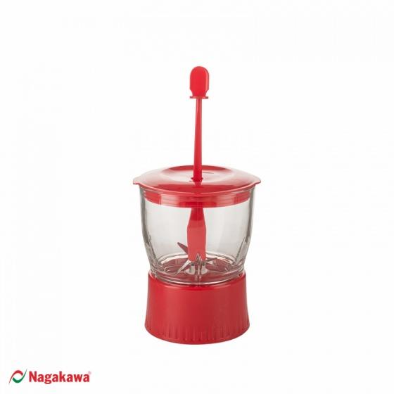 Máy xay sinh tố Nagakawa NAG0801 350W  1.25 Lít - tặng ấm siêu tốc cao cấp NAG0314 - hàng chính hãng