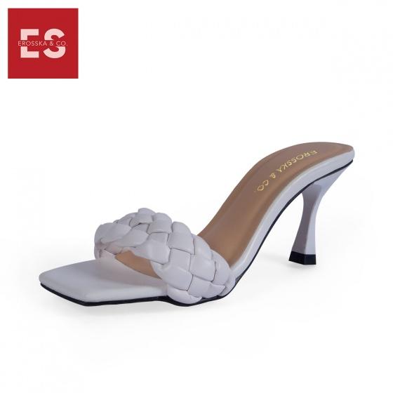 Dép cao gót Erosska thời trang quai đan gót nhọn kiểu dáng thanh lịch cao 7cm BM003