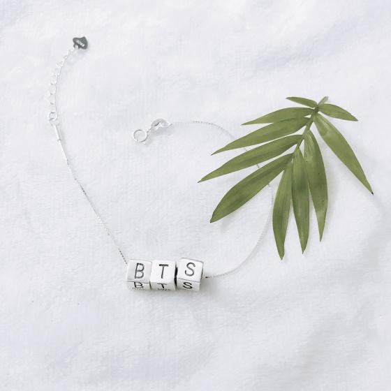 Lắc bạc BTS - Ngọc Quý Gemstones