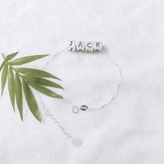 Lắc tay JACK bằng bạc - Ngọc Quý Gemstones