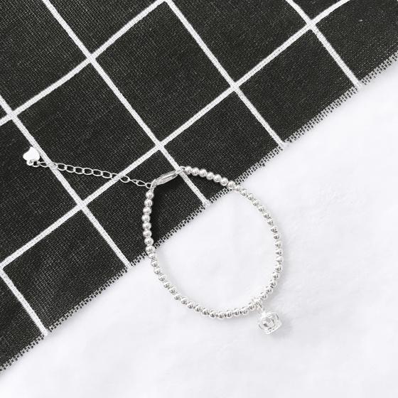 Lắc bi bạc vương miệng - Ngọc Quý Gemstones