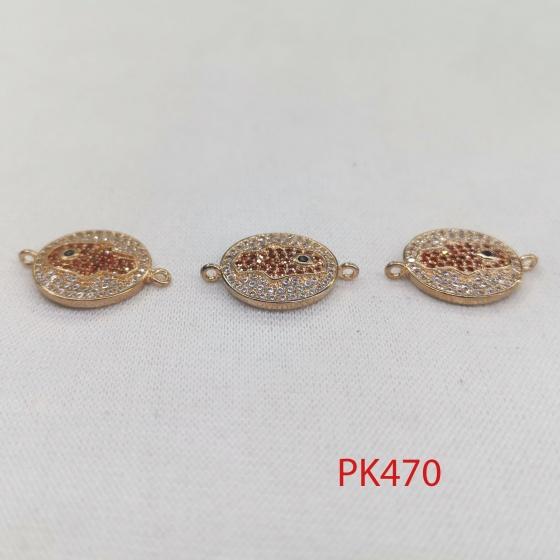 Charm bàn tay thiên nhãn phối trang sức phụ kiện pk468 pk469 pk470 pk471